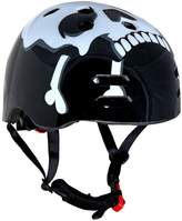 Sport Direct Skull and Cross Bones BMX Helmet - 55-58 cms