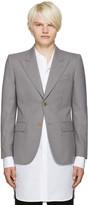 Marc Jacobs Grey Slim Sutton Suiting Blazer