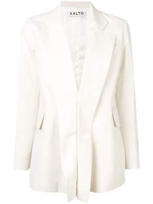 Aalto plunge-neck jacket