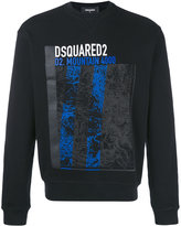 DSQUARED2 mountain print sweatshirt