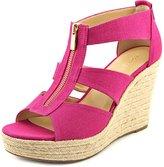 MICHAEL Michael Kors Damita Wedge Women US 10 Pink Wedge Sandal