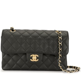 Chanel Pre Owned 2013 Quilted Double Flap Shoulder Bag