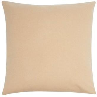 Allude Colour-block Cashmere Cushion - Brown Multi