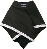 Jacquemus contrast trim blouse - women - Cotton/Linen/Flax/Polyester - 36