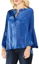 Vince Camuto Bell Sleeve Satin Shirt