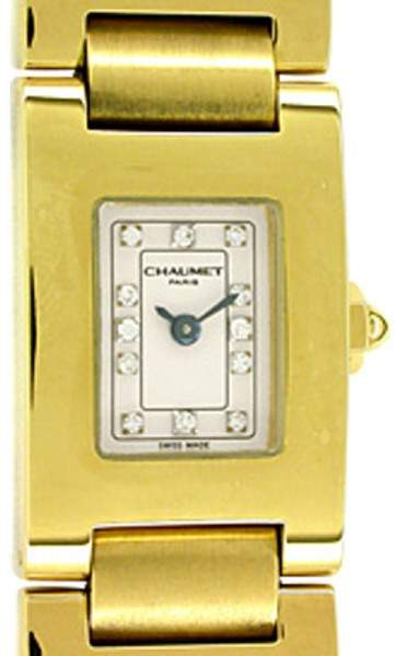Chaumet Champs-Elysees 18K Yellow Gold Womens Watch