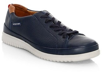 Mephisto Thomas Leather Lace-Up Sneakers