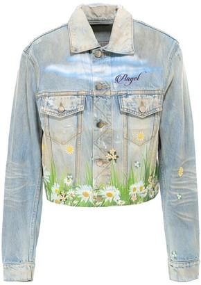 Amiri Printed Denim Jacket