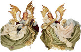"Mark Roberts Heavenly Angles 25"" Decoration 2-Piece Set"