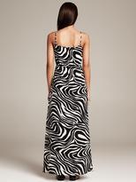 Banana Republic Heritage Zebra Silk Patio Dress
