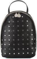 Stella McCartney star-embellished mini Falabella backpack - women - Polyester/metal - One Size