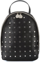 Stella McCartney star-studded mini Falabella backpack - women - Polyester/metal - One Size