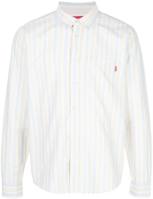 Supreme striped Oxford shirt