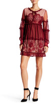 Romeo & Juliet Couture Peek-A-Boo Lace Dress