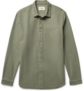 Folk Rivet Slub Cotton Overshirt
