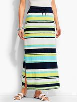 Long Straight Maxi Skirt - ShopStyle