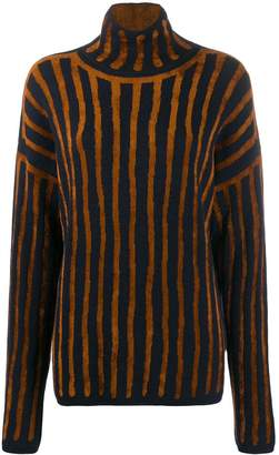 Christian Wijnants knitted striped jumper