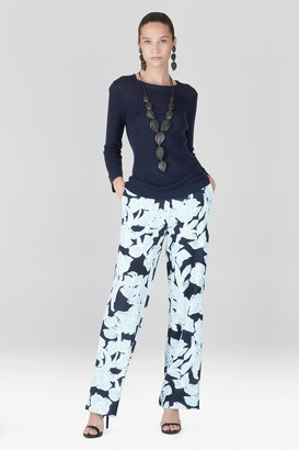 Natori Light Weight Knit 3/4 Sleeve Top