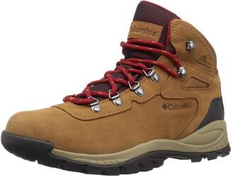 Columbia Womens Newton Ridge Plus Waterproof Amped Hiking Boot Waterproof Leather