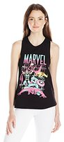 Marvel Juniors Cotton Polyester Blend Twistback Muscle