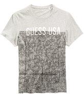 GUESS Men's Colorblocked Graphic Print T-Shirt