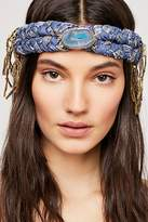 Curried Myrrh Fringe Braided Headband