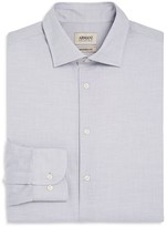 Armani Collezioni Micro Dot Classic Fit Dress Shirt