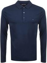Michael Kors Sleek Polo T Shirt Navy