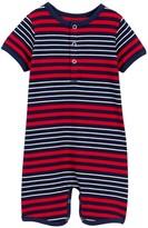Toobydoo Milo Striped Shortie Jumpsuit (Baby Boys)