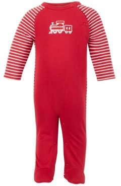 First Impressions Baby Boys Train Coverall, Created for Macy's