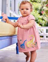 Boden Big Applique Jersey Dress