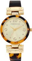 Charter Club Women's Tortoiseshell-Look Bracelet Watch 35mm, Only at Macy's