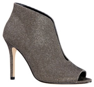 Nina Merima Peep Toe Booties Women's Shoes