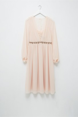 French Connection Alana Drape Dress