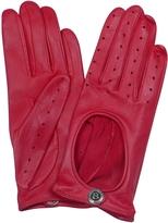 Bentley Dents Pittards Cabretta Red Driving Ladies Gloves
