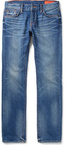 Jean Shop Jim Skinny-Fit Selvedge Denim Jeans