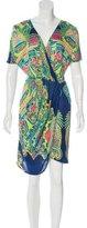 Mara Hoffman Knit Geometric Dress
