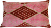Orientalist Home Pippa 16x24 Silk Pillow, Pink