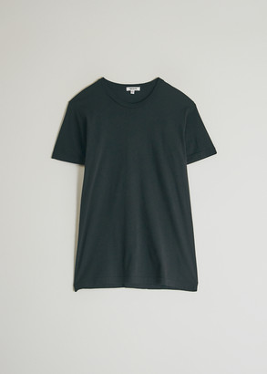 Need Women's Short Sleeve Dye T-Shirt in Washed Black, Size Extra Small | 100% Cotton