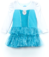 Children's Apparel Network Frozen Elsa Blue Sequin Dress - Toddler