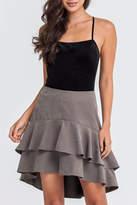 Lush Tiered Skirt