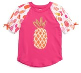 Hatley Girl's Tropical Pineapple Rashguard