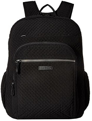 Vera Bradley Iconic XL Campus Backpack (Classic Black) Backpack Bags