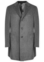 Corneliani Grey Cashmere Coat