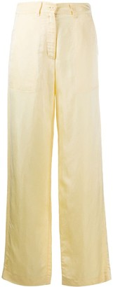 Soulland Tova straight trousers