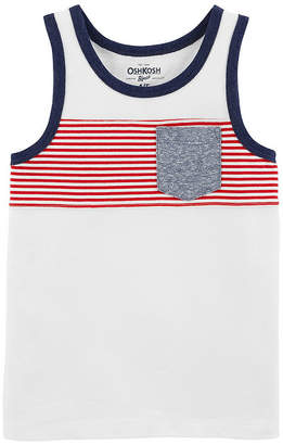 Osh Kosh Oshkosh Boys Sleeveless T-Shirt-Preschool
