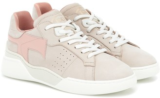 Tod's Suede and leather sneakers
