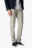 7 For All Mankind Slimmy Slim With Clean Pocket In Tan Brushed Melange
