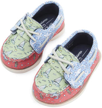 Vineyard Vines Infant Sperry x Heritage Patchwork Authentic Original Crib Boat Shoe