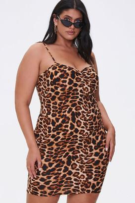 Forever 21 Plus Size Leopard Print Dress